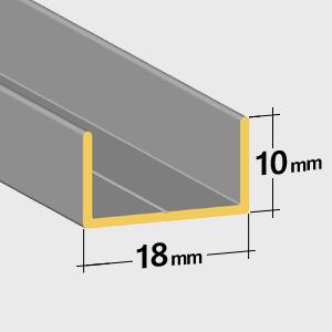 Lower rail 10mm