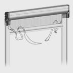 Double chain system: inner left /external right
