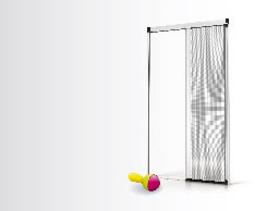 Insect screen for doors