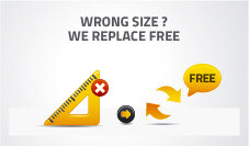 Free Returns of your Fly Screens NoFlyStore in case of wrong size